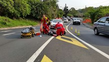 Pedestrian seriously injured in collision, Westeville